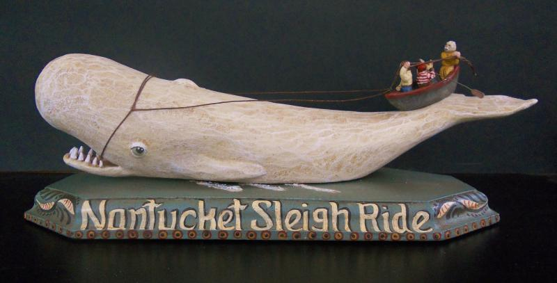 Nantucket Sleigh Ride  11 x 4 X 4  $145