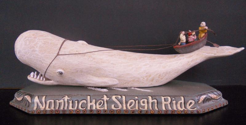 Nantucket Sleigh Ride 11 x 4x 4 $145